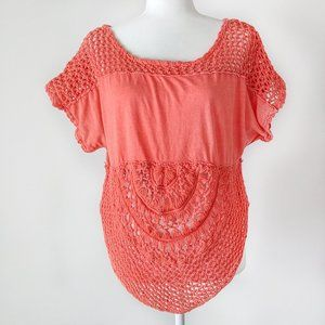 We The Free Women's Boho Crochet Top